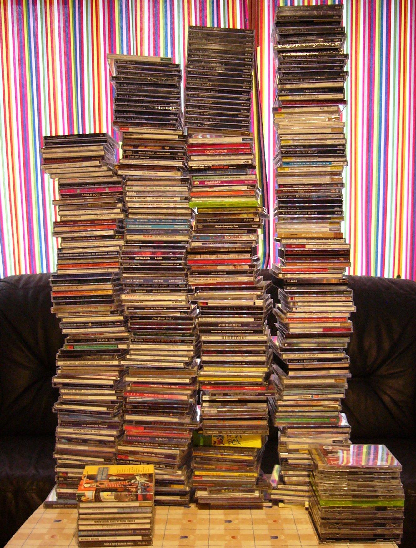 Collection de CD