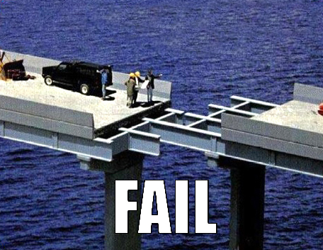 The bridge to Fail Country