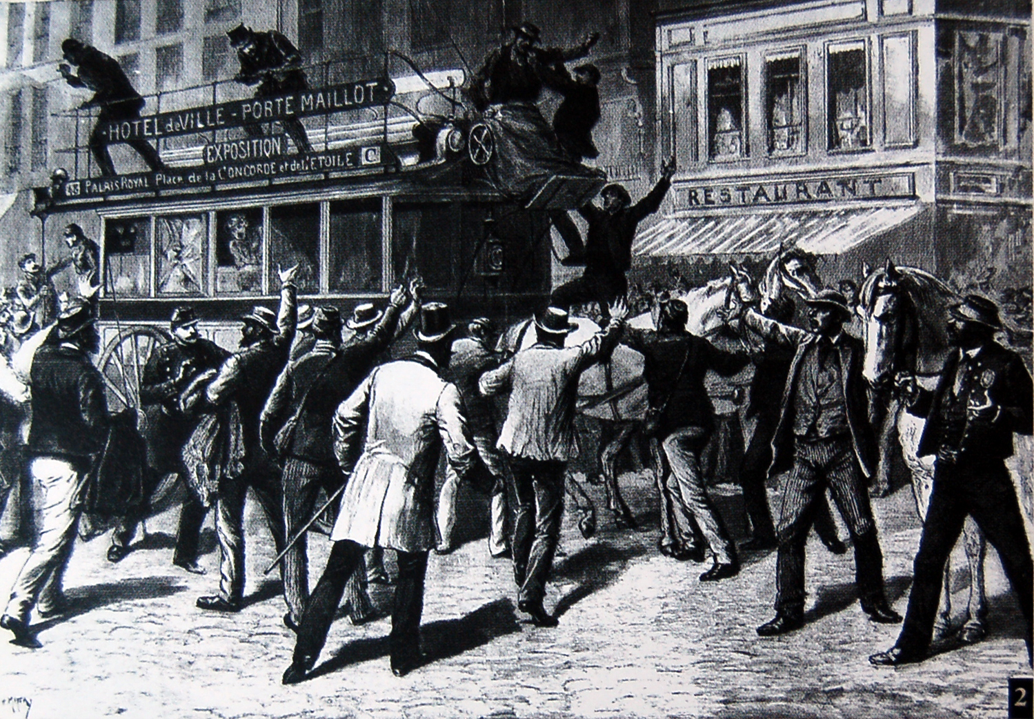1891 Grève des transports