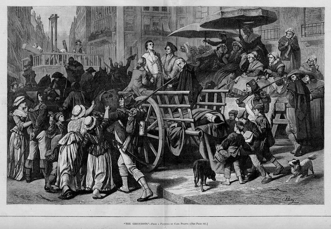 """""""The Girondists"""", Harper's Weekly, August 1881"""