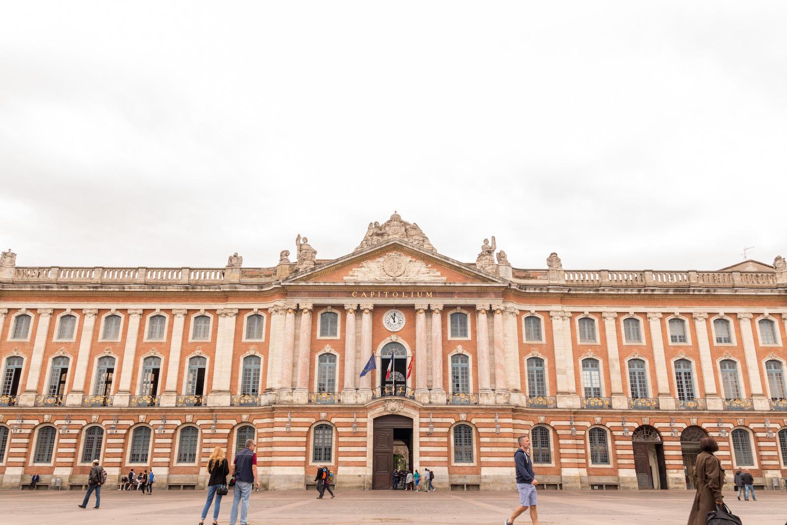 Toulouse, 24 août 2015. Le Capitole.