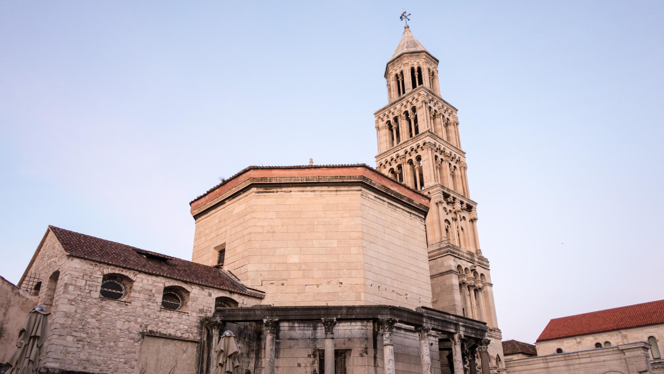 Split, septembre 2015; Palais de Dioclétien