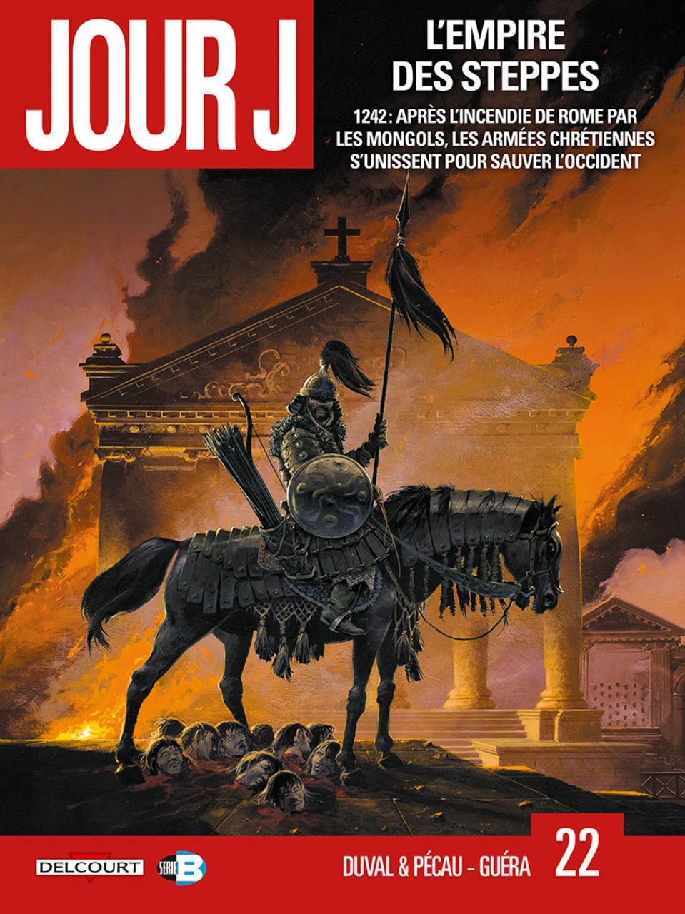 Jour J, tome 22: L'Empire des steppes