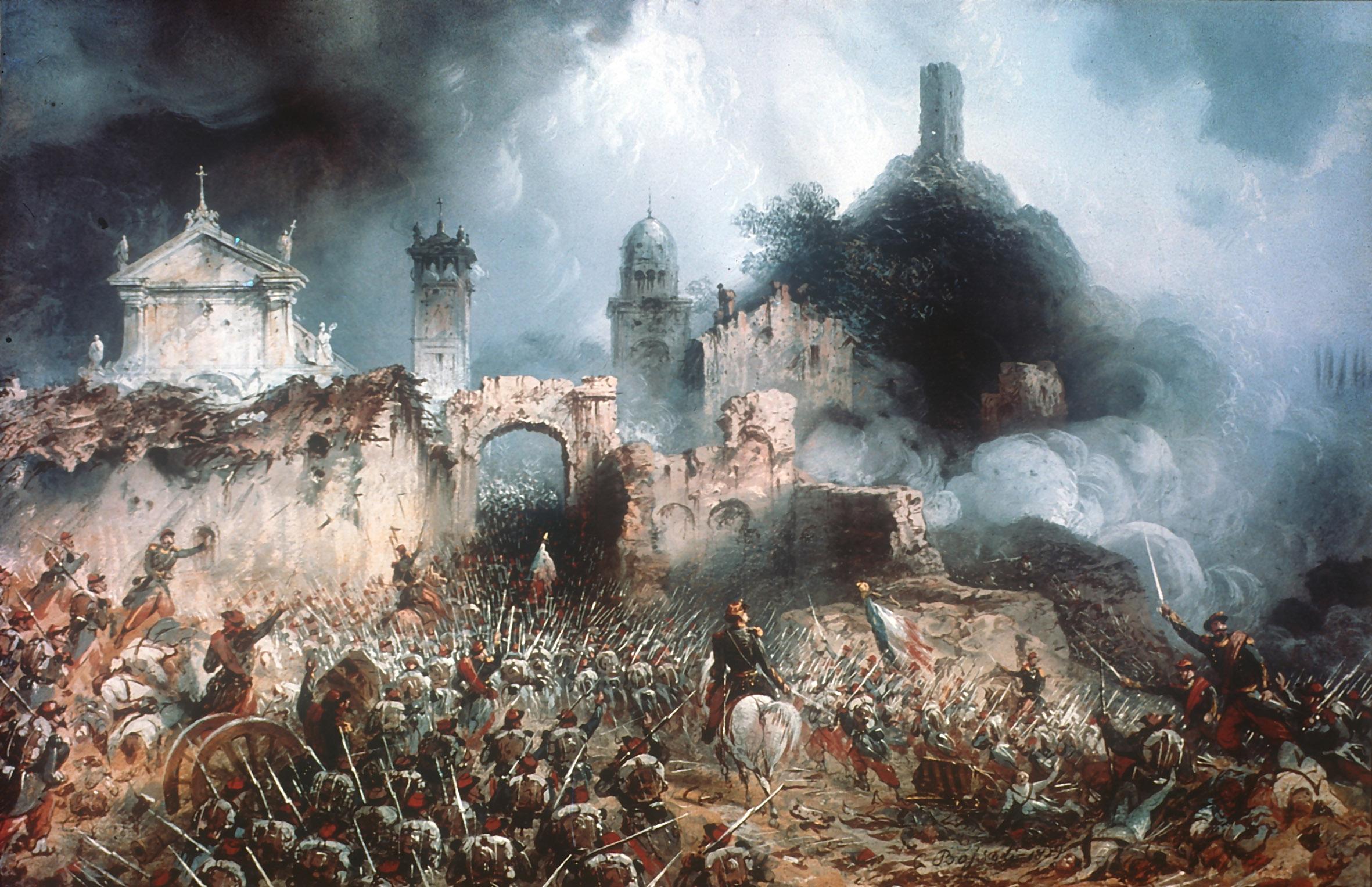Carlo Bossoli: Battle of Solferino