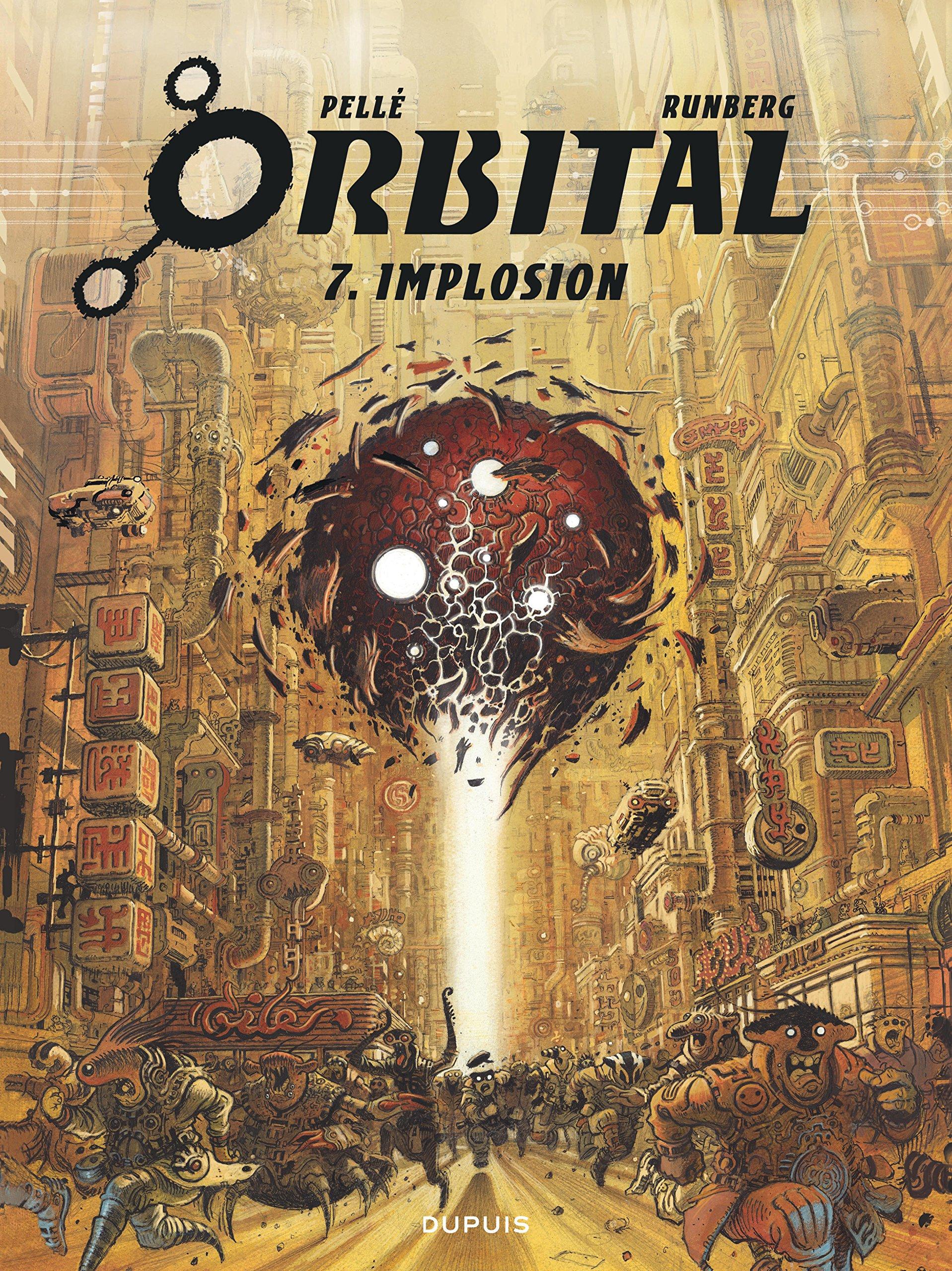 Orbital, tome 7: Implosion