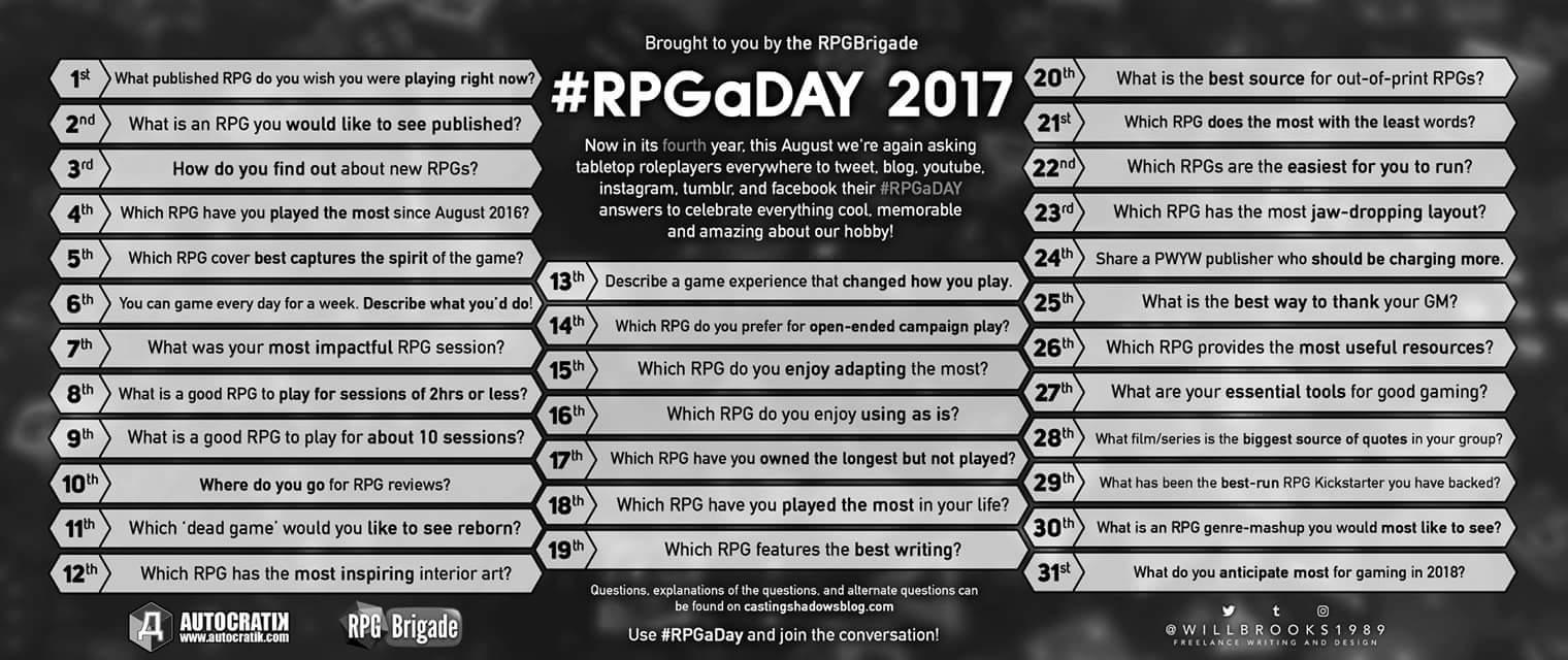 RPGaDay 2017