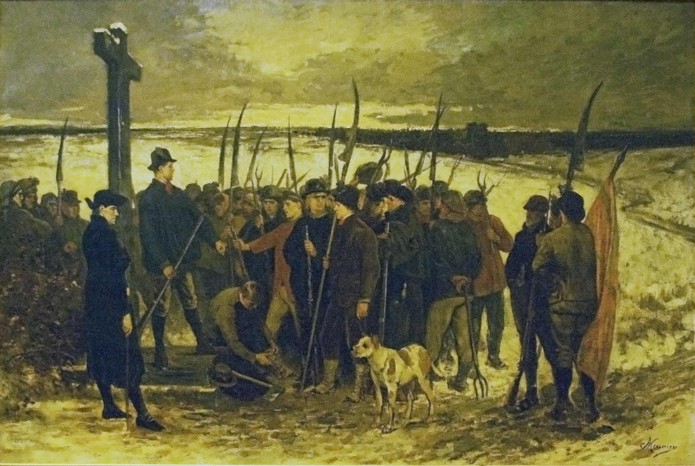 La guerre de paysans – le rassemblement