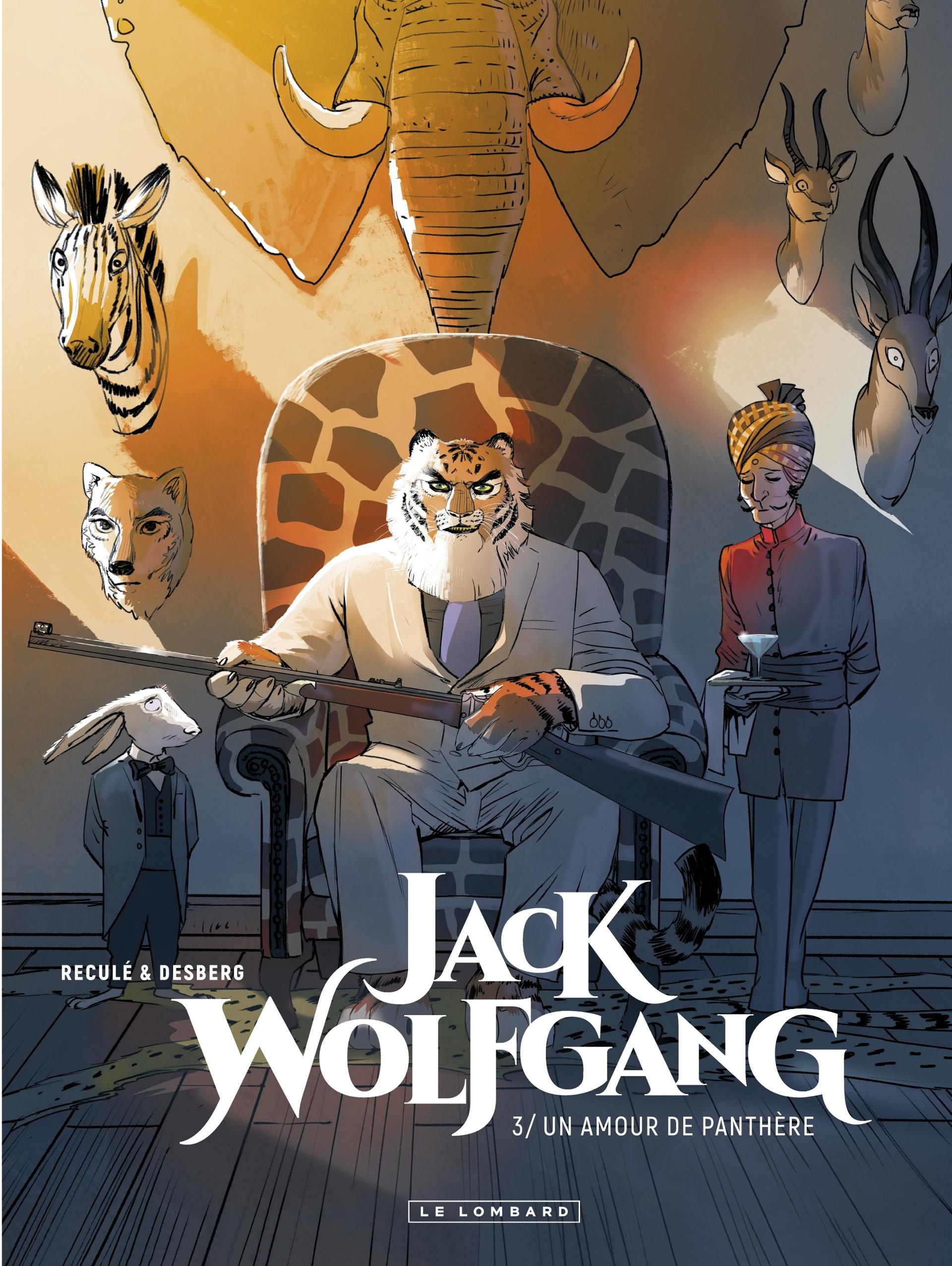 Jack Wolfgang, tome 3: Un Amour de Panthère