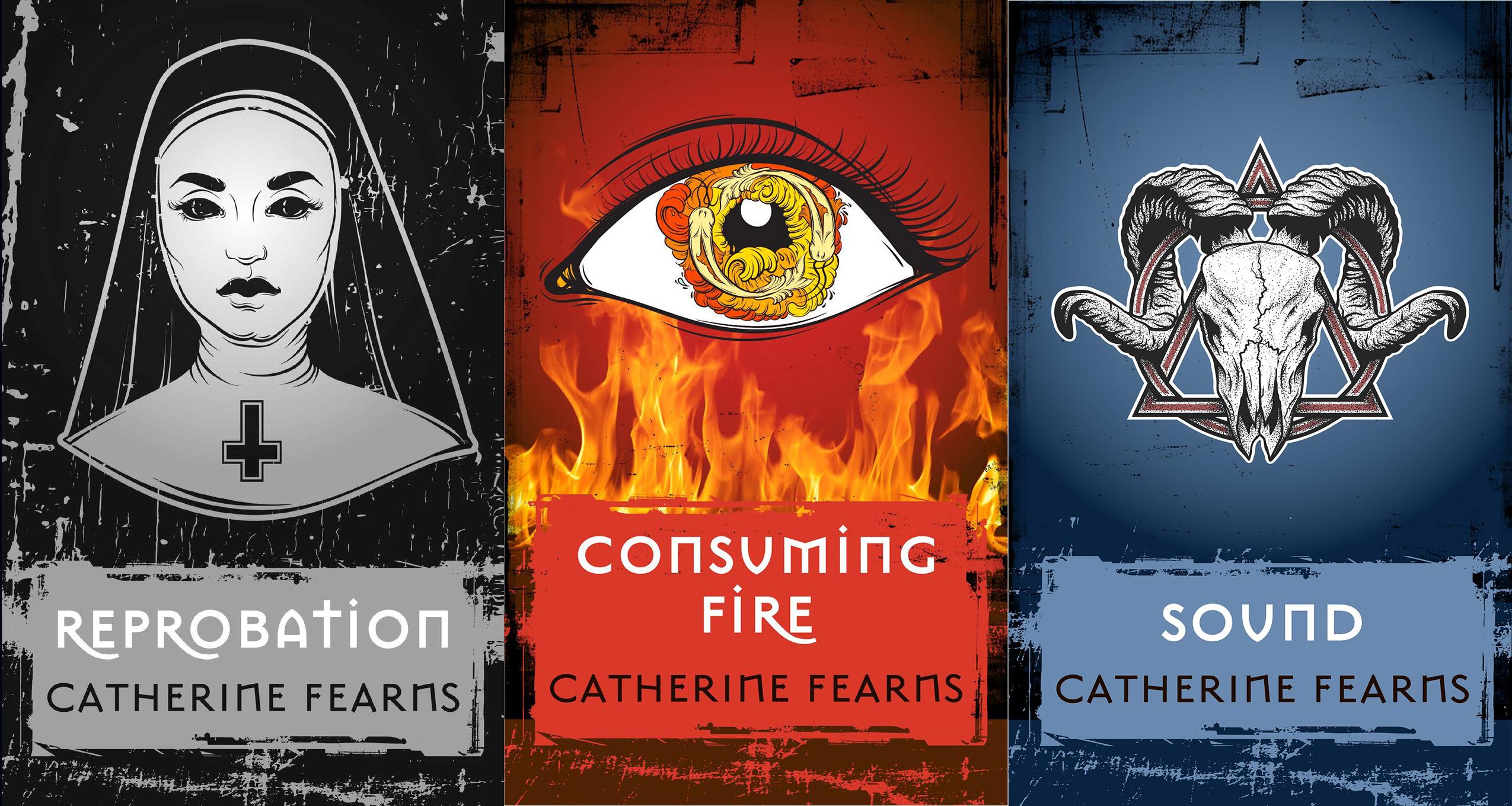 «Reprobation», «Consuming Fire» et «Sound», de Catherine Fearns