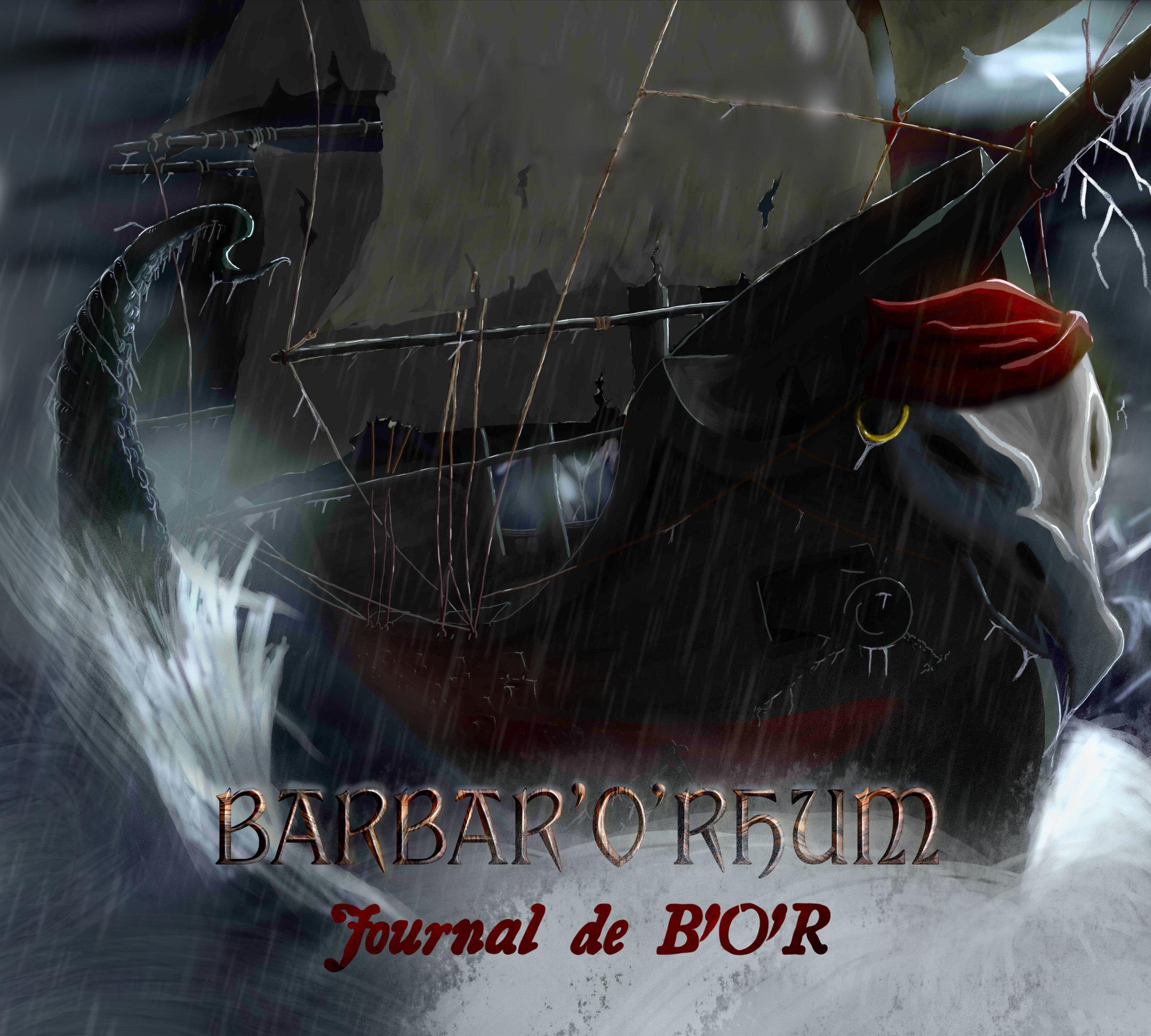 Barbar'O'Rhum: Journal de B'O'R