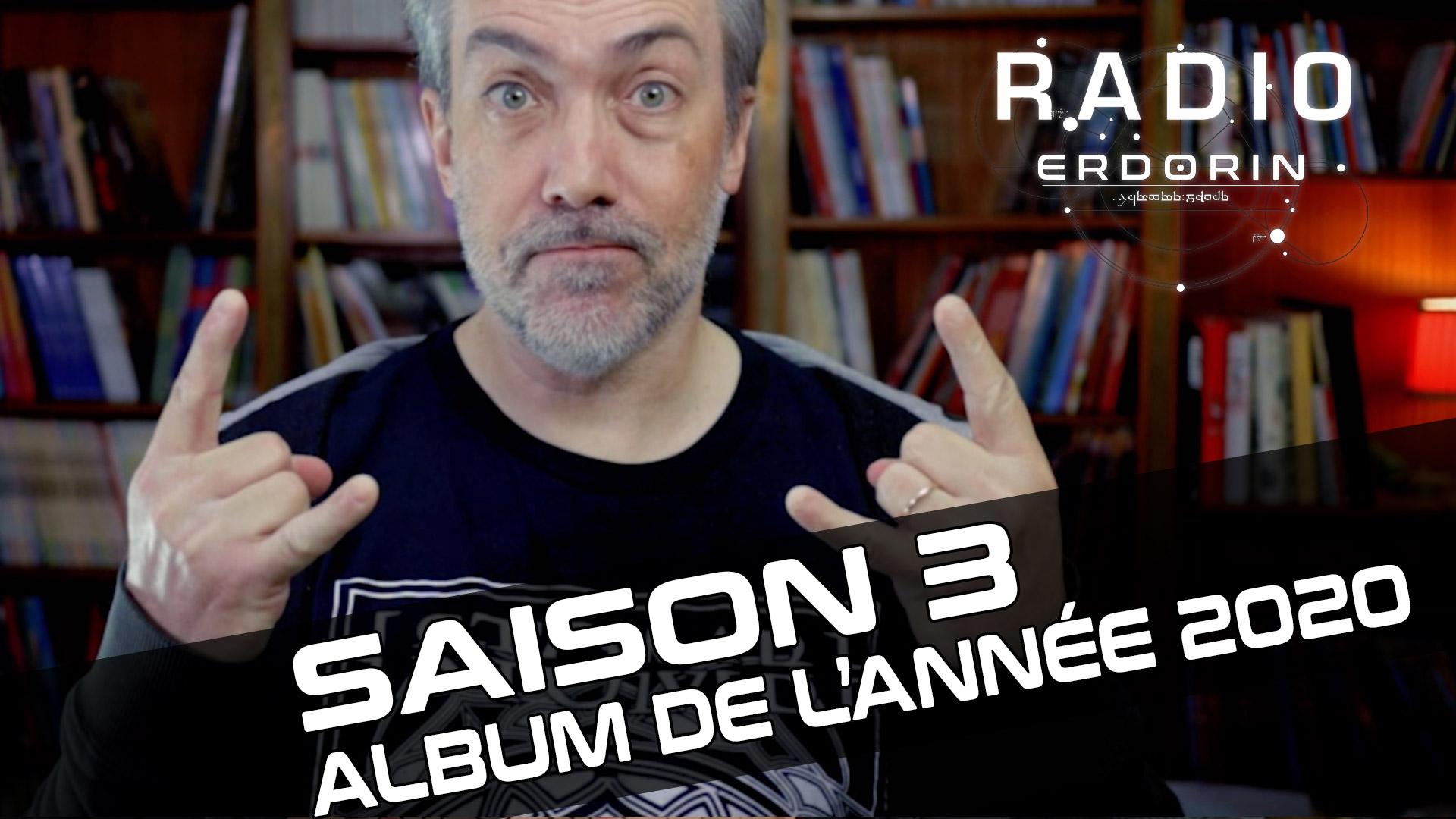 Radio-Erdorin S3HS2 - Album de l'année 2020